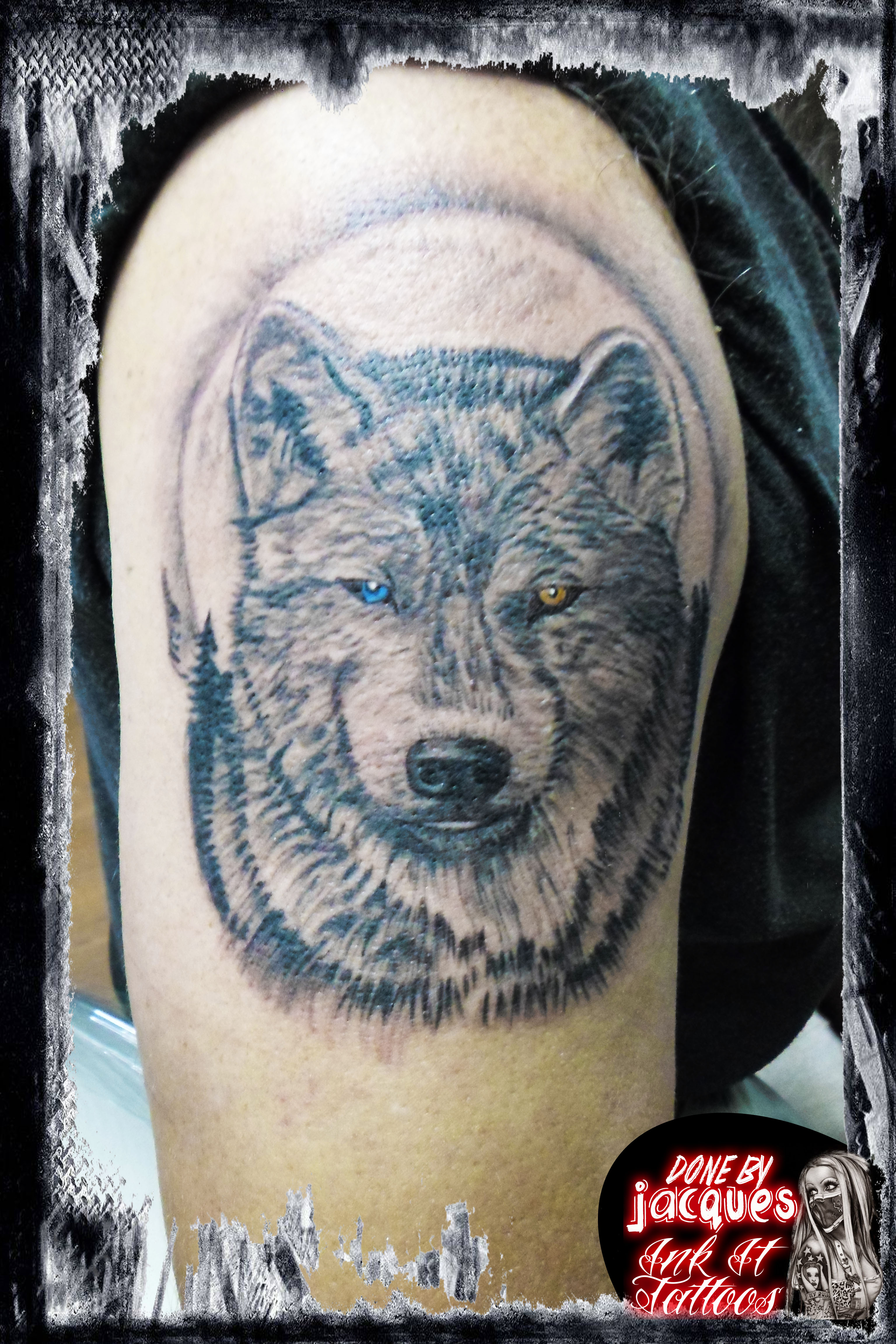 Wolf Tattoo Ink It Tattoos