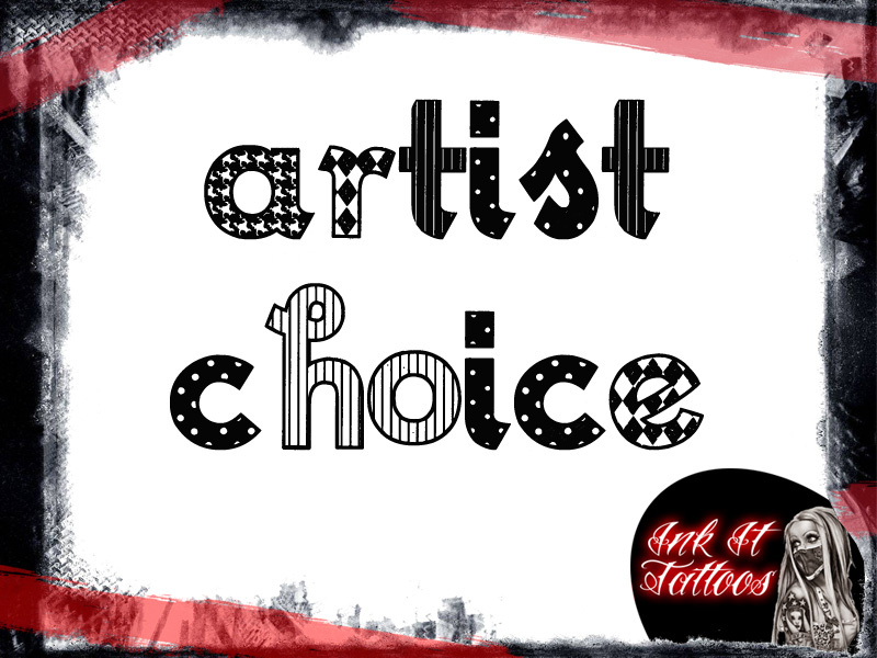 Ink It Tattoos Artist Choice